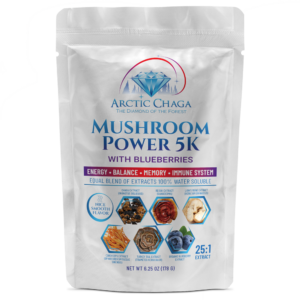 Mushroom Power 5 with Blueberries